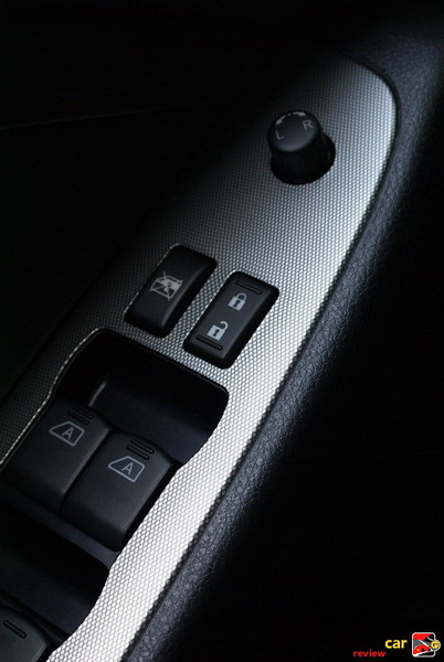 Power door locks, Power windows with one-touch driver-side auto-up/down wit
