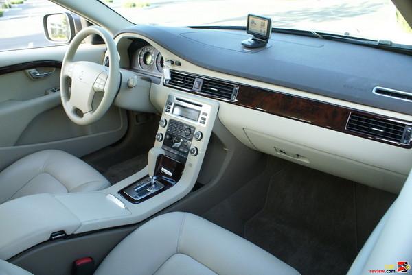 Leather Soft Beige in Sandstone Beige interior