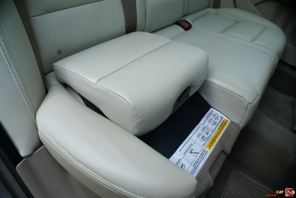 integrated booster seat
