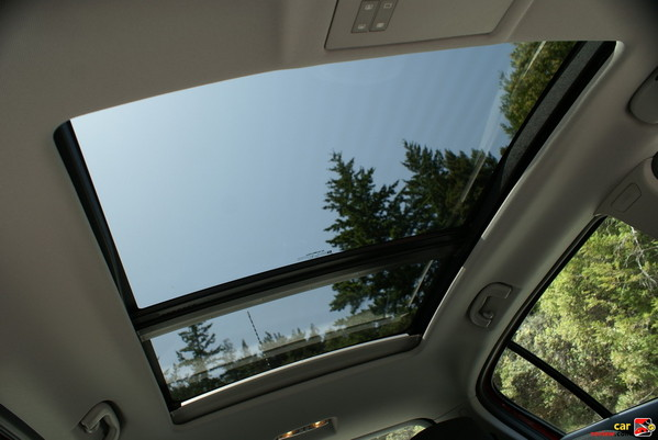 dual panel sunroof
