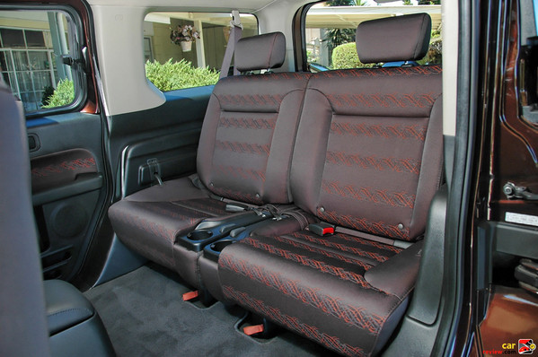 Removable, Flip-Up Rear Seats