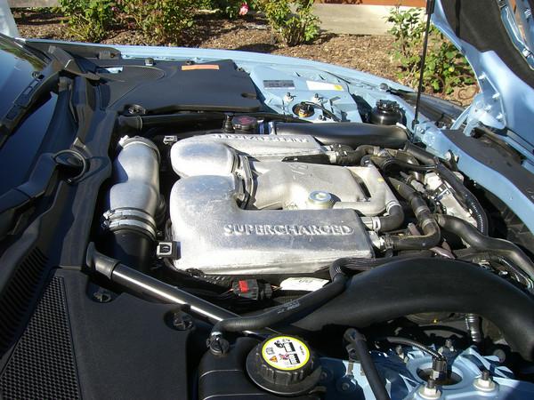 420-hp, Supercharged 4.2-liter V8 Engine