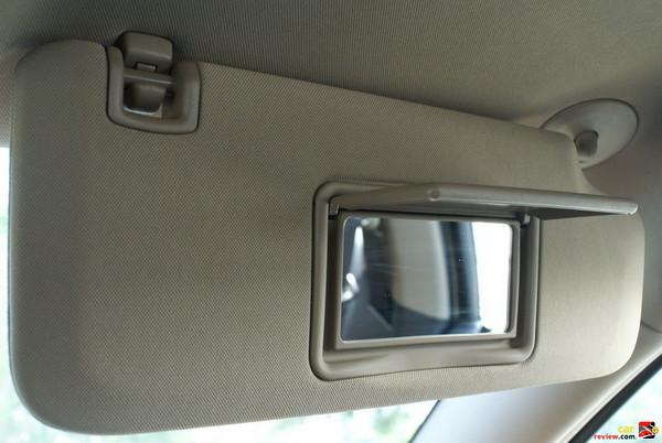 Passenger Vanity Mirror