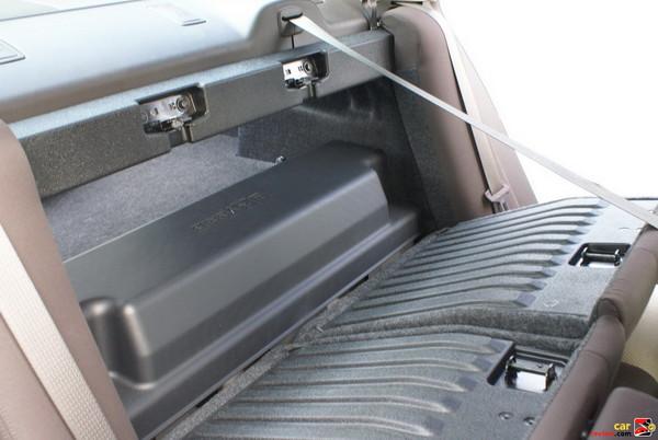 Rear 60/40 Split Folding Bench Seat With Adjustable Headrests