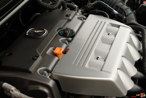 201 hp 2.4-liter, DOHC i-VTECH engine