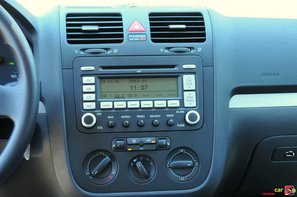 Center Cluster, Radio/Audio/Temperature Controls