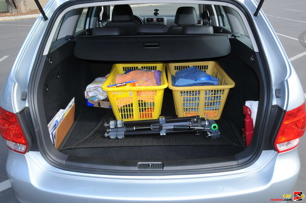Fully Carpeted/Lined Luggage Compartment