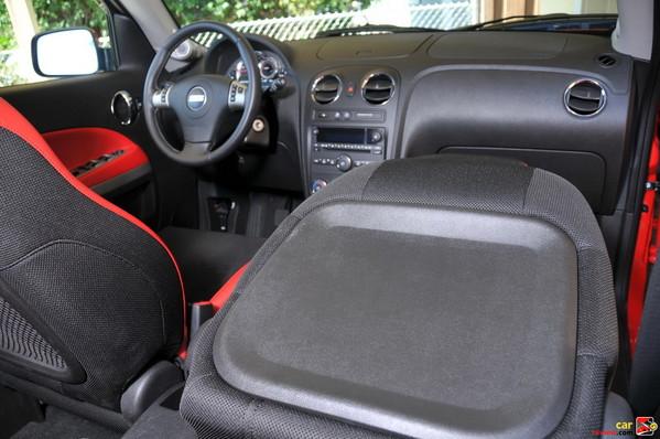 Flat-folding Front Passenger Seat