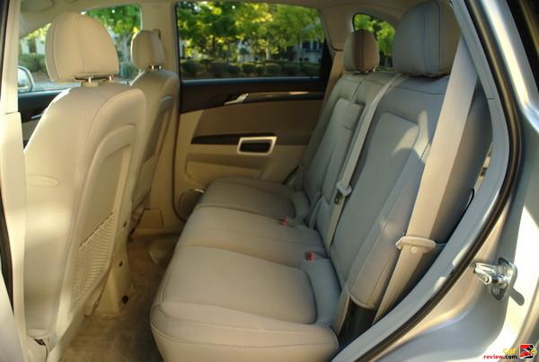 Rear 60/40 Split Folding Bench Seat