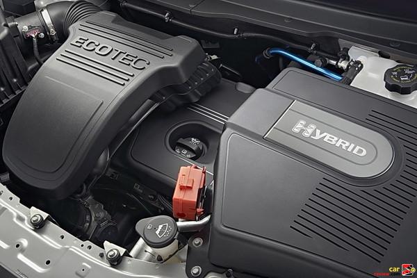 170 hp, 2.4L 4-cylinder Ecotec hybrid engine