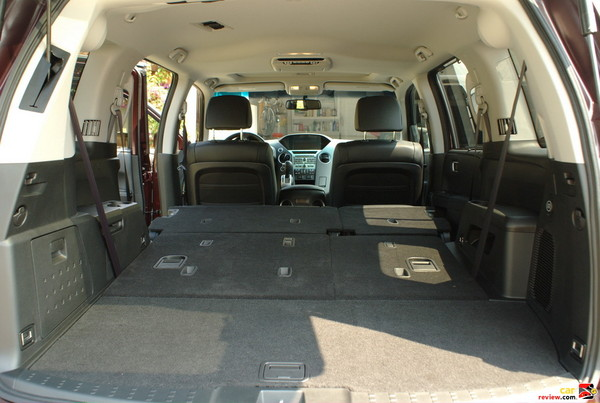 Cargo Space with all Seats Folded Down