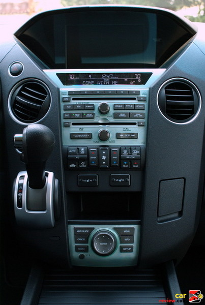 Center Stack - Audio, Navigation, Temperature and Shifter