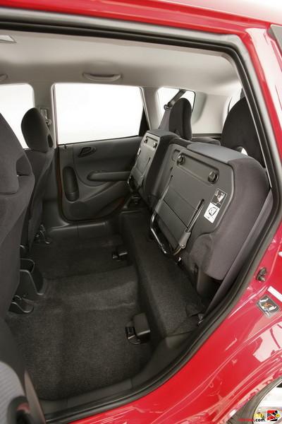 Honda Fit Magic seats