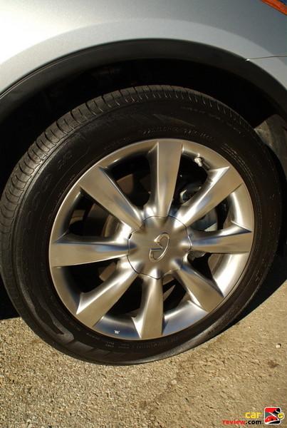 17-inch Aluminum Alloy Wheels