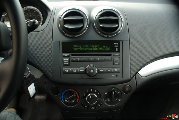 AM/FM Stereo with CD Player and Temperature Controls