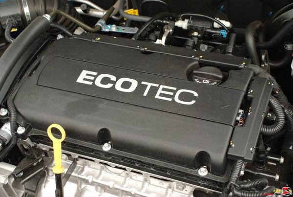 106 hp 1.6 L 16-valve E-TEC II DOHC L-4 Engine