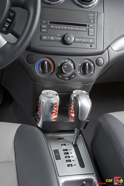 Center Stack with Two Cup Holders