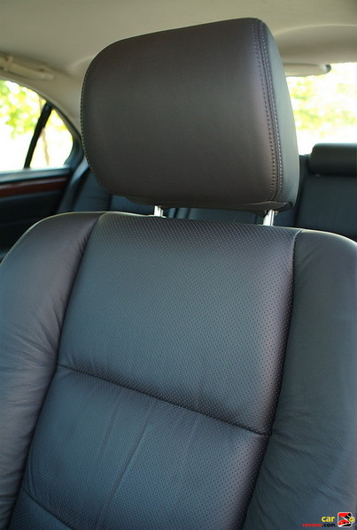 heated and cooled leather seats