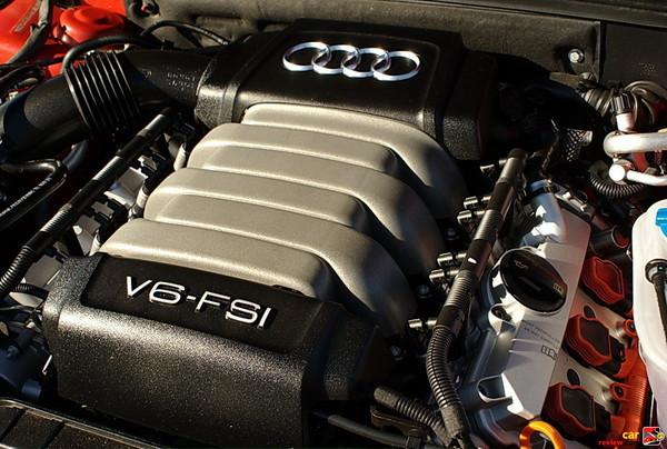 265hp 3.2L FSI V6 engine