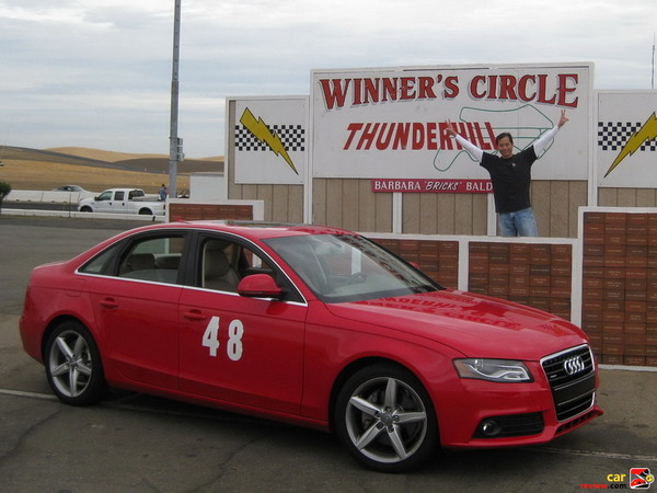 The Audi A4 is a winner at Thunderhill