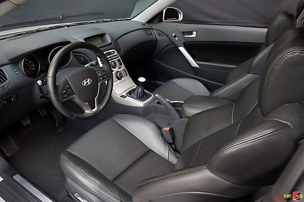 heated black leather seats