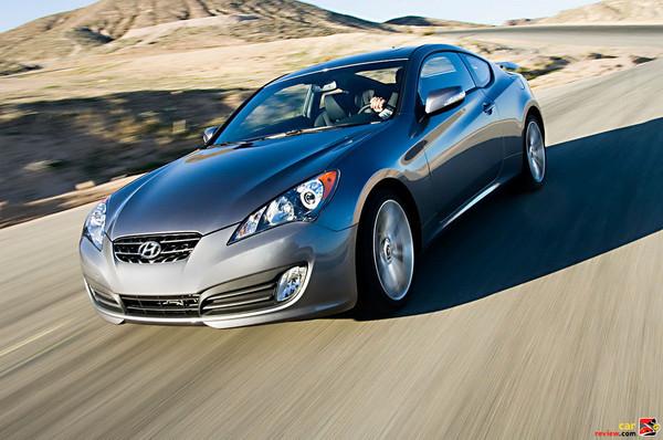2010 Hyundai Genesis Coupe 3.8 Track