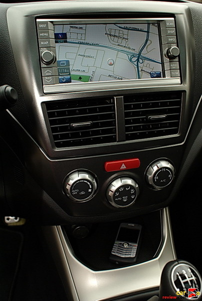 Touch-screen GPS navigation system
