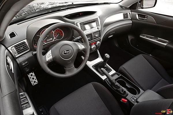 Subaru Impreza WRX interior