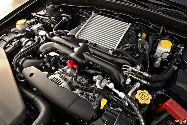 265 hp turbocharged 2.5L H4 engine