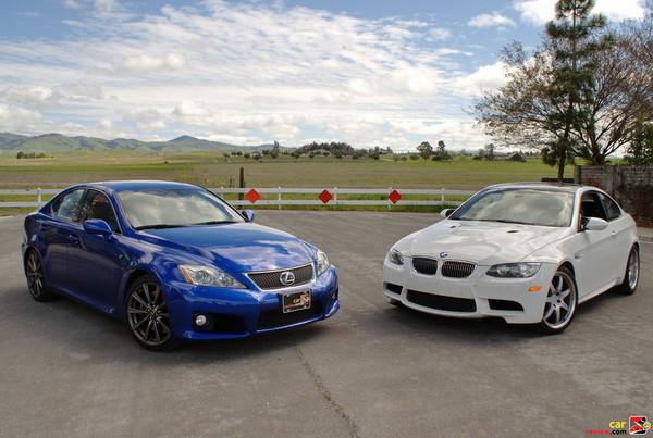 Lexus IS-F vs. BMW M3