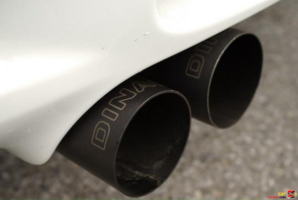 BMW M3 Dinan exhaust