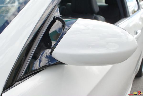 BMW M3 side view mirror