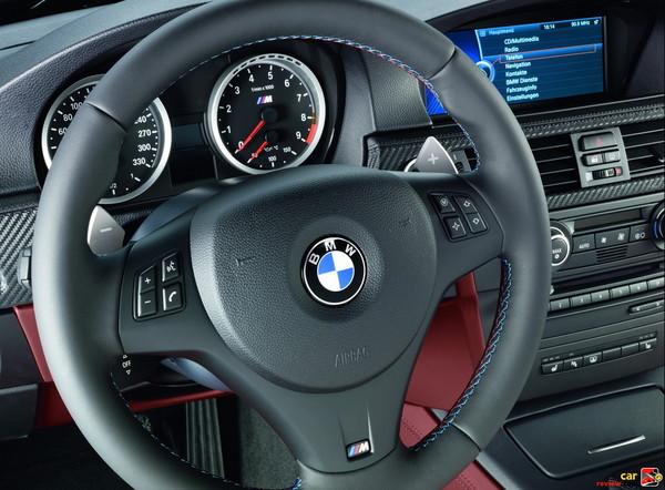 BMW M3 coupe interior