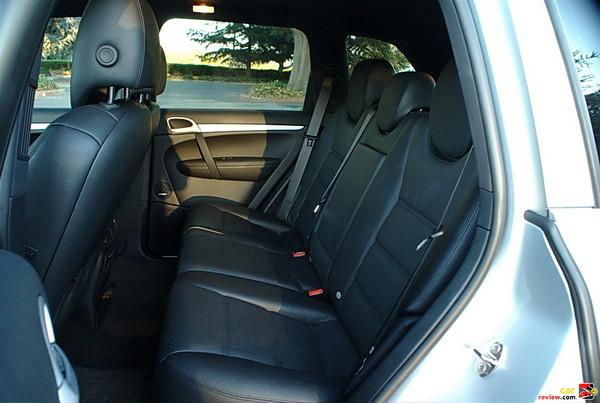 back seat comfort