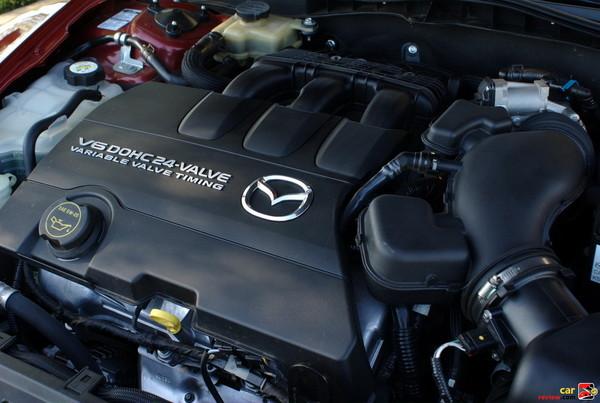 272 hp 3.7L DOHC 24-valve 6 cylinder engine