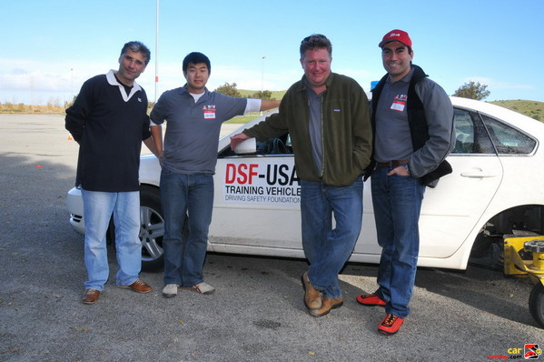 DSF team - Al, Wallace, Jeff, Sia