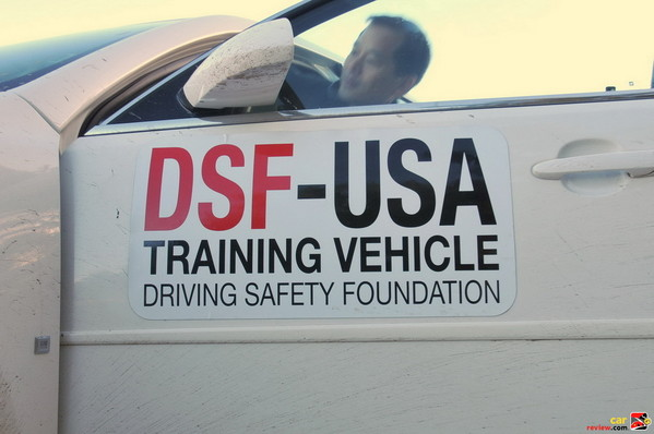 DSF training vehicle