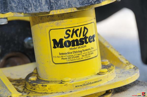 Skid Monster up close