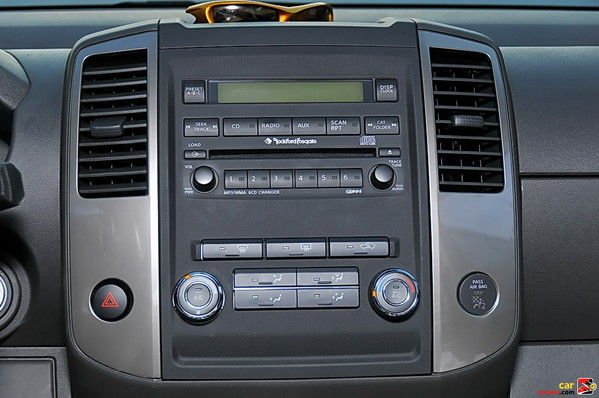 Rockford Fosgate-powered audio system