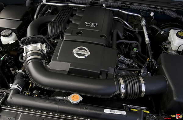 261 hp 4.0L V6 engine