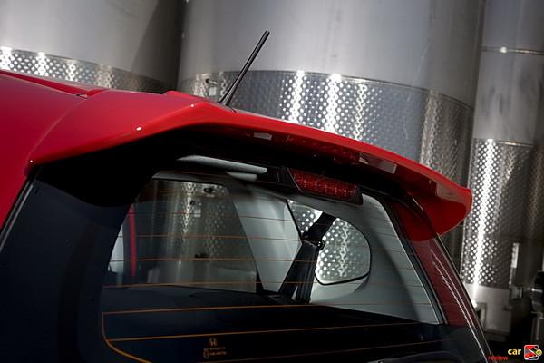 2009 Honda Fit Sport - rear roofline spoiler