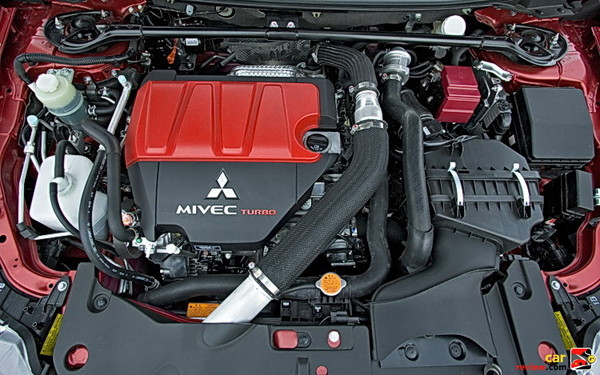 291 hp 2.0L turbocharged engine