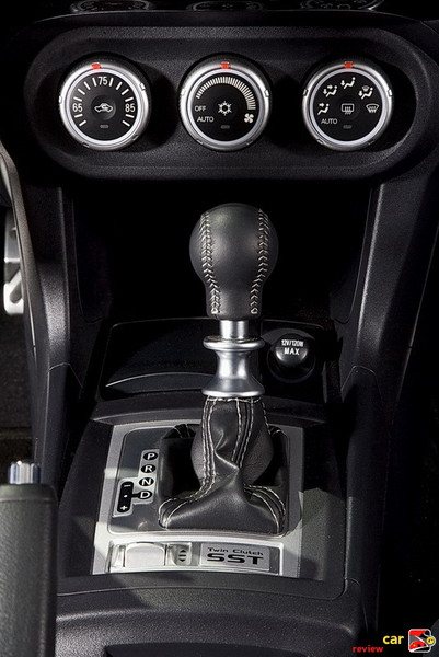 6-speed twin-clutch sportronic transmission