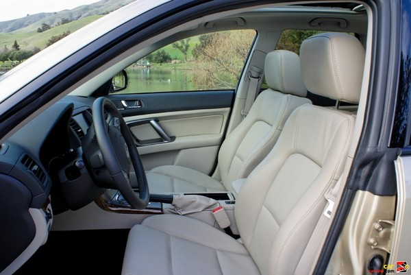Leather-trimmed upholstery
