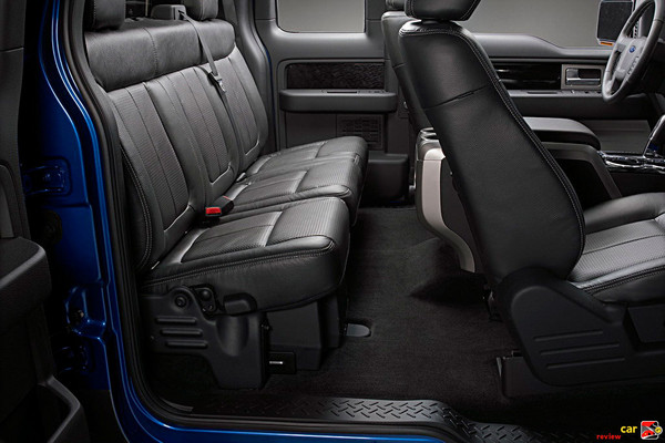 Supercrew rear seats are more comfortable