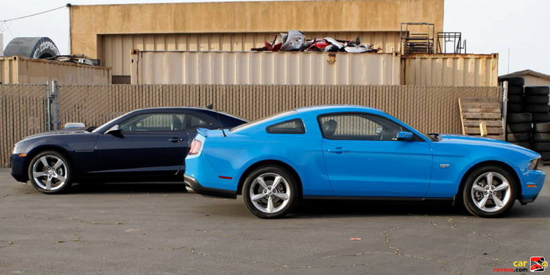 2010 Ford Mustang GT & Chevy Camaro RS