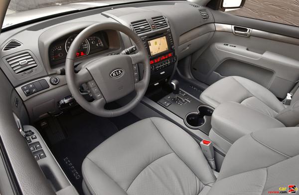 2009 Kia Borrego interior