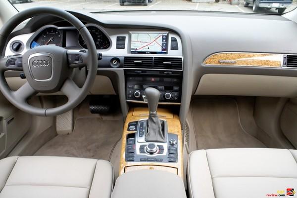 2009 Audi A6 interior