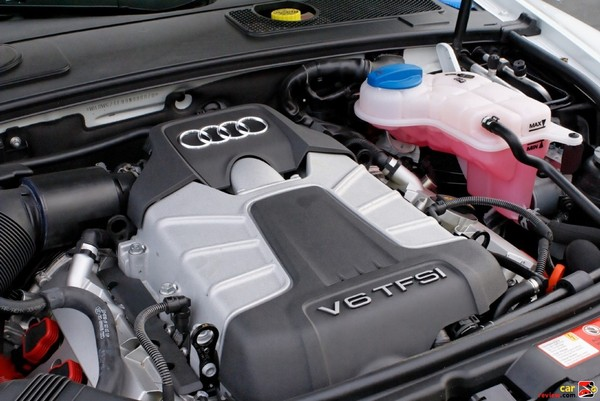 285 hp supercharged V-6 engine w/FSI direct injection