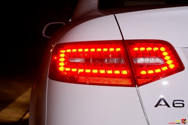 Rear LED tail lights